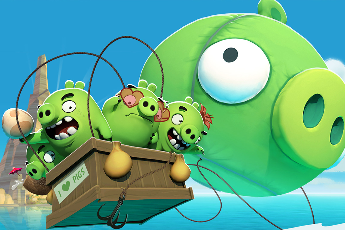 Angry Birds Isle of Pigs android